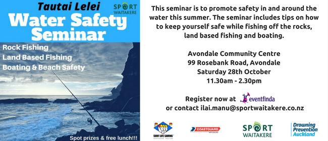 Sport Waitakere - Water Safety Seminar - Tautai Lelei
