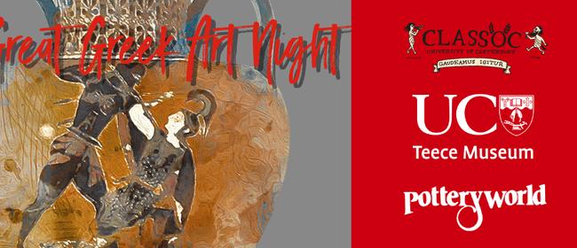 Great Greek Art Night - Christchurch - Stuff Events