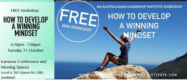 Free workshop: How To Develop A Winning Mindset
