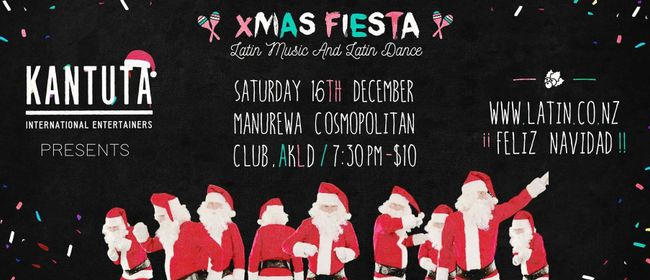 Kantuta - Cosmopolitan Club Xmas Latin Fiesta