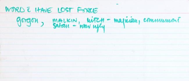 Louise Menzies: Gorgon Malkin Witch