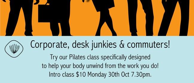 Pilates for Corporate, Desk Junkies & Commuters