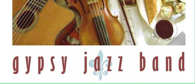 Springtime Gypsy Jazzband and Silent Auction