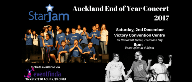 StarJam Auckland End of Year Concert 2017