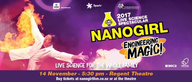 Nanogirl Live In Engineering Magic - Dunedin
