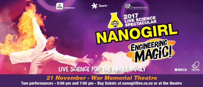 Nanogirl Live In Engineering Magic - Gisborne