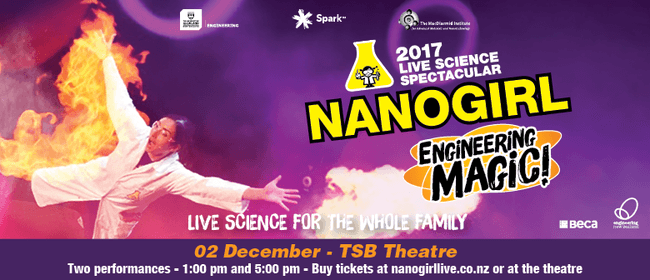 Nanogirl Live In Engineering Magic - New Plymouth