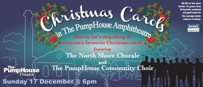 Christmas Carols In the PumpHouse Amphitheatre
