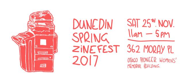 Dunedin Spring Zinefest 2017