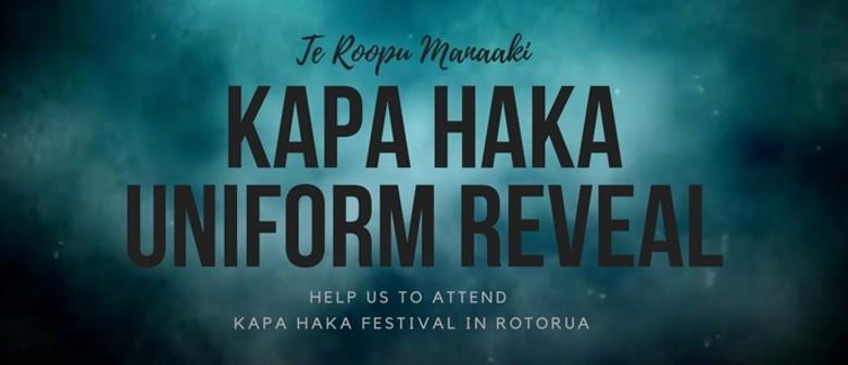 Te Roopu Manaaki Concert and Uniform Reveal