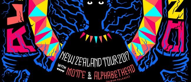 The All Seeing Hand, Alphabethead, Motte & Bad Sav