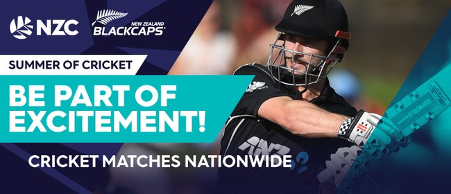 Blackcaps v Pakistan - 3rd ODI