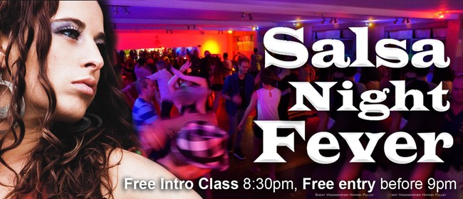 Salsa Night Fever Party: Intro Class