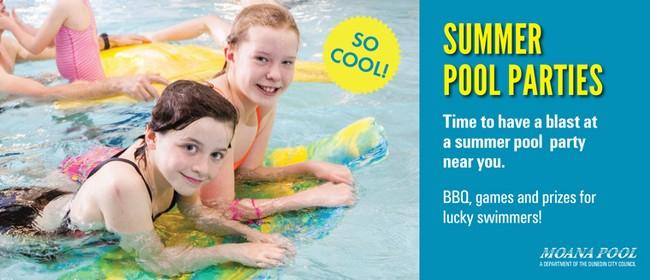 Summer Pool Parties - St Clair Hot Salt Water Pool