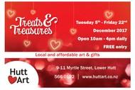 Hutt Art Christmas Treats and Treasures