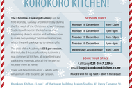 School Holiday Christmas Cooking Academy