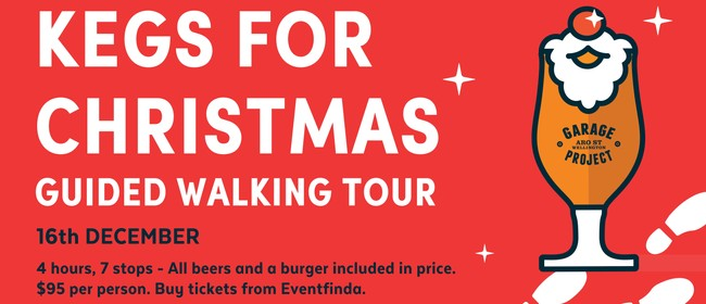 Kegs for Christmas - Beer Walking Tour for Charity