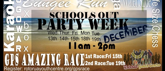 Schools Out Party Week