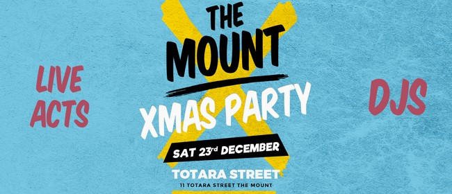 The Mount Xmas Party