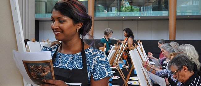 Art in Bloom Social Painting: Paint like William Hodges