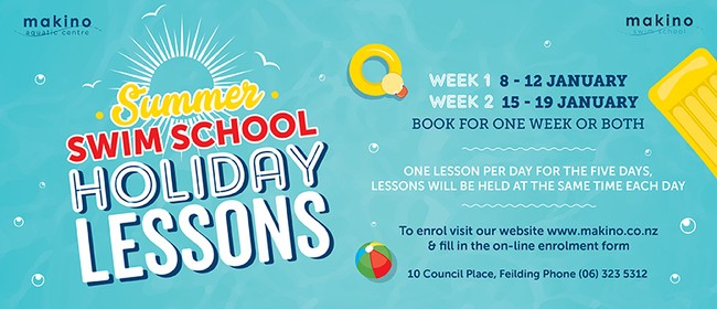 Summer Swim School Holiday Lessons - Week Two