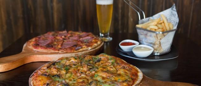 Half Price Pizza Day