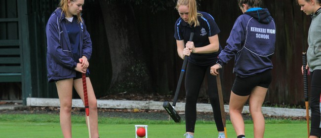 Golf Croquet Under 21 NZ Championships