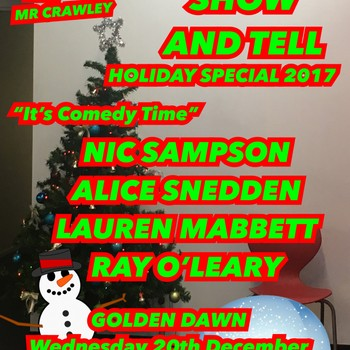 Talk Show and Tell: Holiday Special 2017