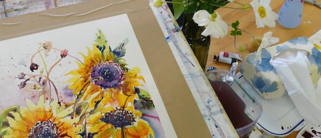Watercolours Modern Florals