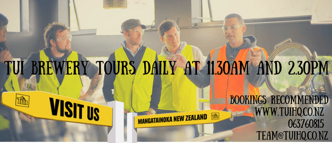 Brewery Tours - Daily