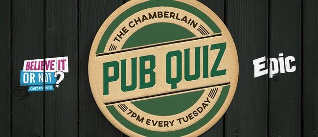 The Chamberlain Pub Quiz