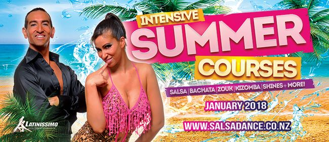 Salsa Imp-Int Level 3-4 Summer Course
