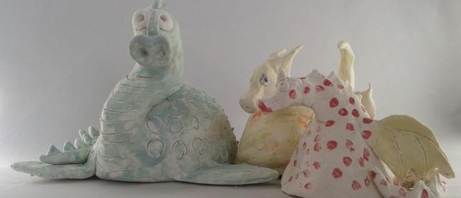 Clay Dragon Making