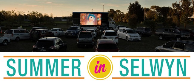 Spectrum Lighting and Sound Drive-in Movie