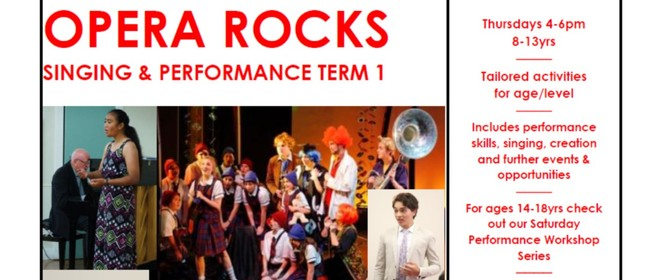Opera Rocks Youth Classes Term 1