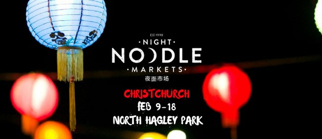 Christchurch Night Noodle Markets 2018