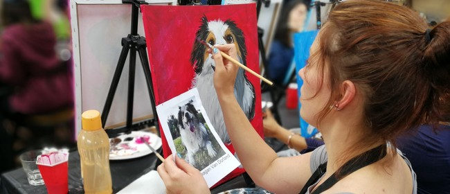 Paint Your Pet With Mixing It Up Painting Events