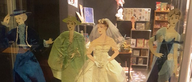 Paper Toys of Yesteryear Display