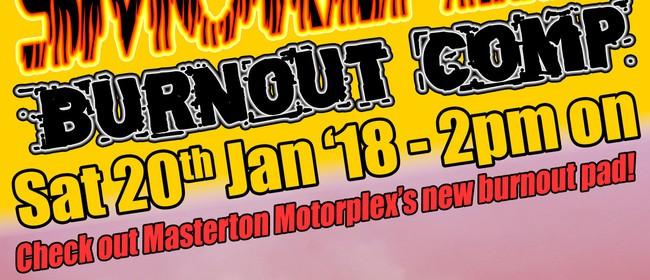 Masterton Motorplex Burnout Comp