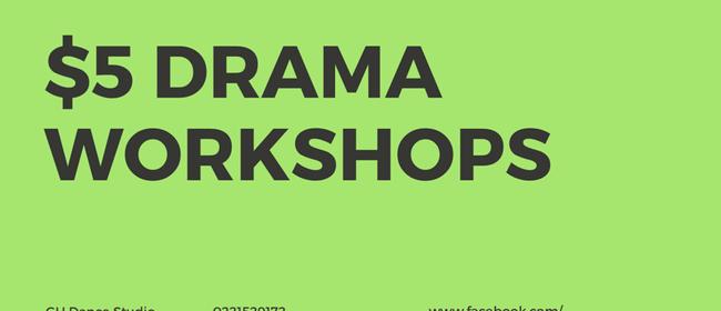 Under 6s Drama Workshops