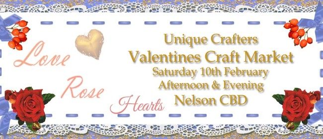 Unique Crafters Valentine's Craft Market