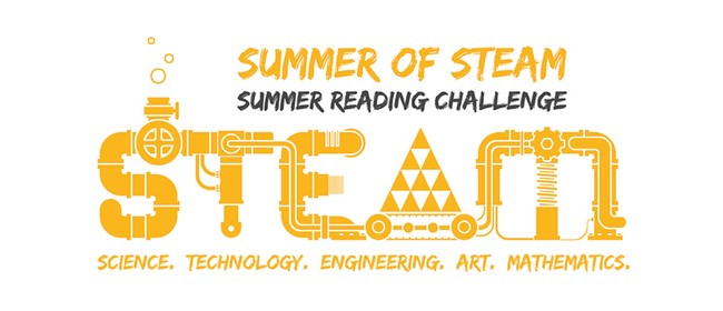 Summer of STEAM Bingo Reading Challenge Finale