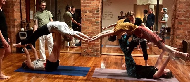Acro Yoga Introduction Class