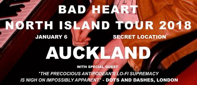 Finn Johansson - Bad Heart Tour