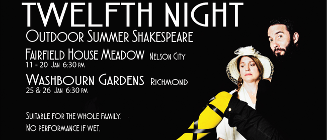 Nelson Summer Shakespeare - Twelfth Night