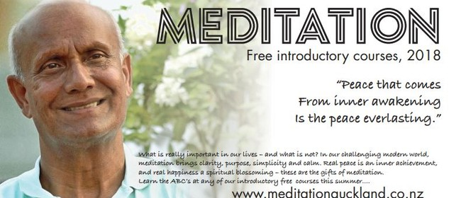 Learn to Meditate (Course Code: D)