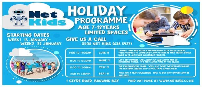Coding & Robotics Holiday Programme