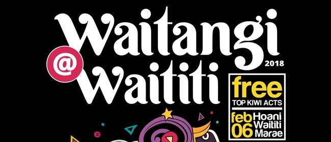 Waitangi@Waititi 2018