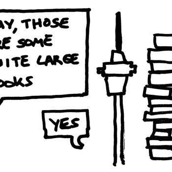 Quite Large Book Sale