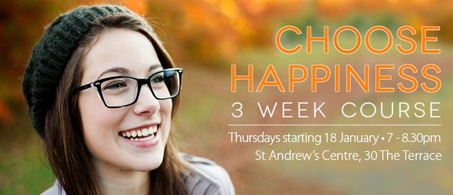 Choose Happiness – 3 Week Course